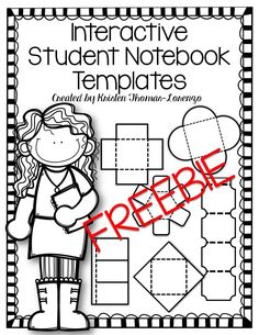 Are you using interactive notebooks in your classroom check out download these templates to create interactive activities for your students simply add the image to pronofoot35fo Gallery