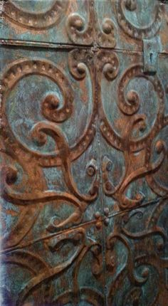 Modern Masters Metal Effects Patina by SK Sartell of SK on Elderberry
