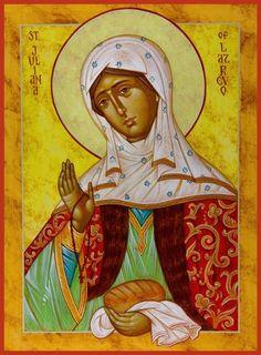 Οσία Ιουλιανή η Δικαία Jan 2 Ρωσια.