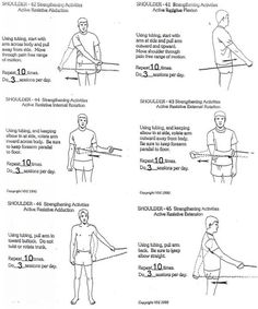 shoulder exercises with bands | Shoulder stretches and Theraband exercises to strengthen your shoulder