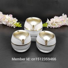 66.41$  Watch now - http://ali3xp.shopchina.info/go.php?t=32706821064 - 15G 30G 50G White Acrylic Jar, Cosmetic Cream Skin Care Essence Lotion Packing Container, Empty Acrylic Cream Jar, 12pcs/lot 66.41$ #buychinaproducts