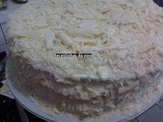 Receita Torta 4 leites deliciosa