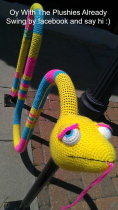 Yarn Bomb by Oy With The Plushies Already