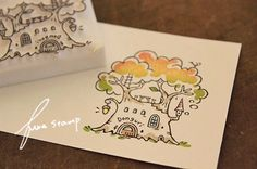 消しゴムはんこ : ふわふわ堂 Eraser Stamp, Stamp Carving, Handmade Stamps, Stamp Printing, Diy Home Crafts, Mail Art, Handicraft, Hand Carved, Stamping