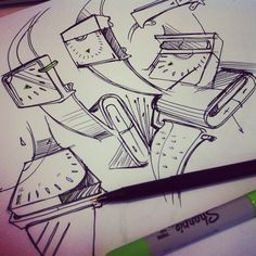 Doodle by Hoang M Nguyen , via Behance