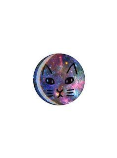 Galaxy Cat Pin   Hot Topic