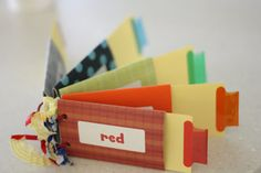 Toilet Paper Roll Book (with pull tabs). A great way to #repurpose and make something fun.