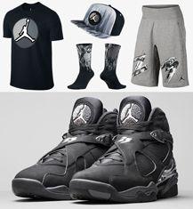 """f3a58a9334cd7b Air Jordan 8 """"Chrome"""" Collection"""