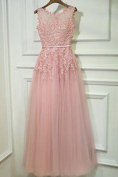 Applique Prom Dresses, Pink A-line/Princess Prom Dresses, Long Pink Prom Dresses, Gorgeous Pink Prom Dresses For Teens, Graduation Formal Party Dresses Princess Prom Dresses, Mermaid Bridesmaid Dresses, Prom Dresses For Teens, Elegant Prom Dresses, A Line Prom Dresses, Pink Prom Dresses, Tulle Prom Dress, Wedding Party Dresses, Homecoming Dresses