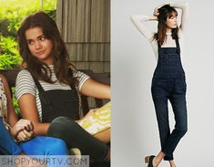 The Fosters: Season 3 Episode 2 Callie's Black Overalls