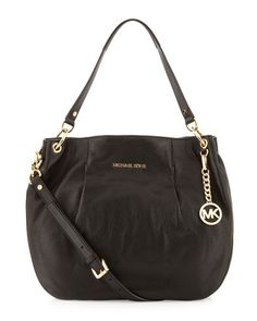 4ce31e01c147 MICHAEL Michael Kors MICHAEL Michael Kors Large Bedford Pebbled Shoulder Bag  Mk Handbags, Mk Bags