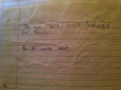 12 Amazing Notes Confiscated By A Middle School Teacher Over The Years