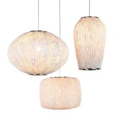 Three-Piece Coral Pendant Lamp by Arturo Álvarez | MONOQI