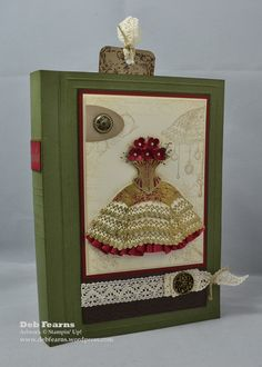 Vintage Gift Book Box   Deb Fearns