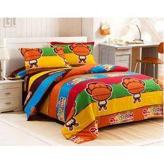 Luxury 4-piece cotton comforter sets Hippie Monkey