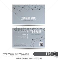 Стоковые вектора и векторный клип-арт Business Card | Shutterstock