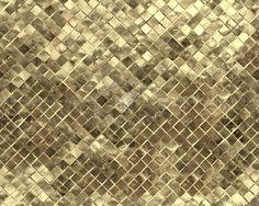 Mosaico brass metal plate texture seamless 10760
