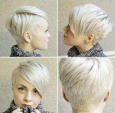 Frisuren Frauen Pixie  #frauen #frisuren #pixie