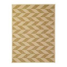 """HESSUM door mat, natural Length: 3 ' 3 """" Width: 2 ' 4 """" Surface density: 6 oz/sq ft Length: 100 cm Width: 70 cm Surface density: 1690 g/m²"""