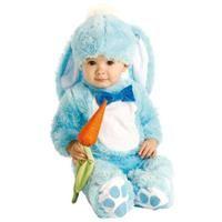 Tavşancık Kostümü, Mavi 6-12 Ay