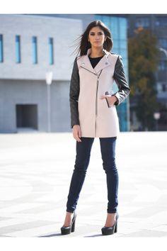 пальто Пекин. Цвет: бежевый