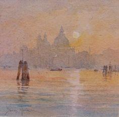 David Howell, Venice, watercolor