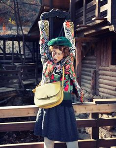 "CeCi Korea December / 2013 Model_Lee Ho jung Photographer_Zoo Yong gyun  Editor_Choi Sung min ""Anne's Diary"""