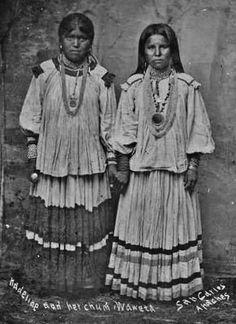 Kadeline, Waweta - San Carlos Apache - circa 1888