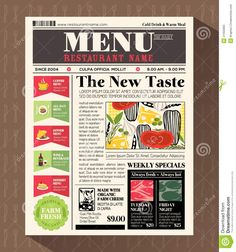 newspaper style design - Google 搜尋