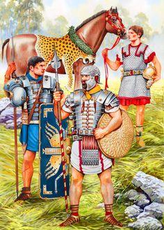 Roman Army Units in the Western Provinces- Legionary, Praetorian Guard and Eques Singularis Augusti