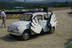 Fiat 500 Garlenda, football goalkeeper