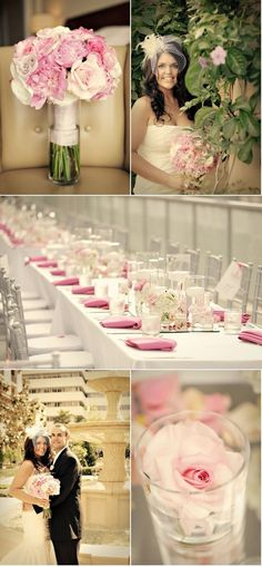 Pink   Silver Wedding Ideas