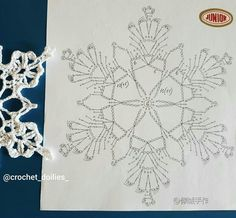 Crochet Angels, Crochet Stars, Thread Crochet, Crochet Granny, Crochet Motif, Crochet Stitches, Crochet Christmas Ornaments, Christmas Crochet Patterns, Christmas Snowflakes