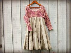 1X Empire Waist Boho Trapeze Dress// Plus Sizes// by emmevielle