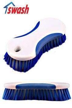 แปรงซักผ้า Swash รุ่น Laundry Brush ให้คุณจับได้อย่างถนัดมือ เนื้อยางนิ่มมือ สามารถจับได้อย่างสบาย กระชับมือไม่ลื่นหลุดง่าย เหมาะสำหรับเสื้อผ้าที่ต้องการดูแลเป็นพิเศษ ราคา 79฿