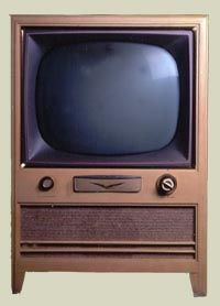 This looks an awful lot like the first TV I remember as a baby born in 1955.