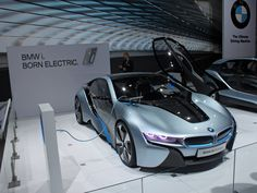BMW's vision of the future for the supercar- The electric i8.