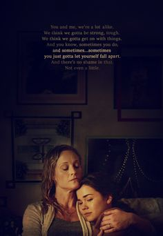 The fosters. I loved this moment!!