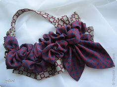 Классический атрибут мужского гардероба - галстук - может занять достойное место в женской... шкатулке.  Оригинальный аксессуар  для любого повода. Получаю удовольствие от процесса создания украшений для прекрасной половины человечества. Приятного просмотра и конечно вдохновения !........ фото 14