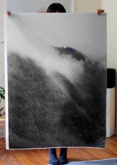 Fog Poster by Debbie Carlos | Little Paper Planes