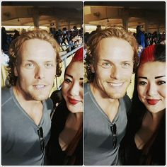 #outlander #jamiefraser  @yourstrulylupe  #OMG don't be jelly #dodgerstadium #LAallDay #ilovethistown  #meandsam #