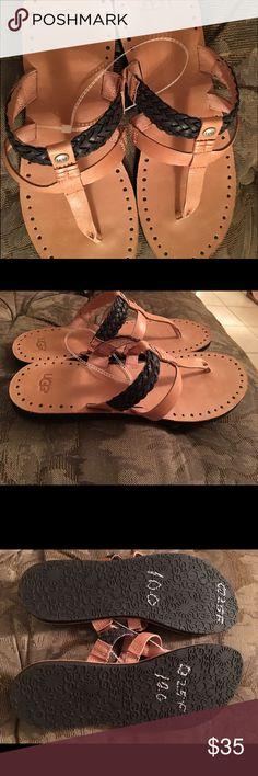 Brand new ugg flip flops size 10 Brand new ugg flip flops size 10 UGG Shoes Sandals