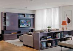Oito projetos e 15 racks para transformar a sala de TV - Casa.com.br