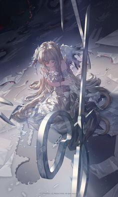 Anime Girls - New Ideas Anime Angel, Anime Girls, Anime Art Girl, Anime Art Fantasy, Art Manga, Manga Anime, Anime Wolf, Anime Hair, Female Anime