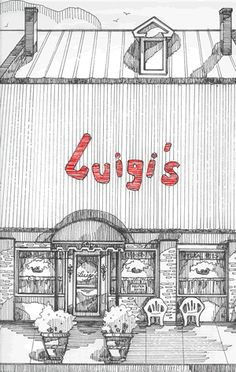 Luigi's,  Augusta, Georgia - Great place for authentic Italian food.