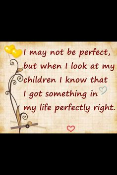 Being a mother is such a privilege