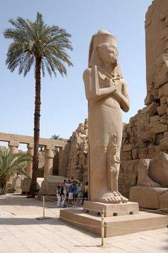 """Tagesausflug von Sharm el Sheikh nach Luxor mit Flug.In Luxor reiht sich nun Höhepunkt an Höhepunkt. Wir beginnen unser Programm mit der Besichtigung der grandiosen Tempelanlage von Karnak. Nach dem Mittagessen werden Sie mit Motorboot nach Theben-West über den Nil gesetzt, wo sich die gewaltigen Totentempel der Pharaonen des Neuen Königreiches befinden. Sie besichtigen das """"Tal der Könige"""", Memnonkolosse, Hatschepsut Tempel und Karnak Tempel.... www.book-tour-egypt.com"""