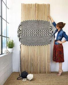 Weaving Textiles, Weaving Art, Weaving Patterns, Tapestry Weaving, Loom Weaving, Hand Weaving, Sculpture Textile, Textile Fiber Art, Tapetes Diy