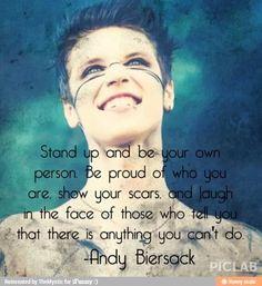 Andy Biersack of Black Veil Brides quote<3