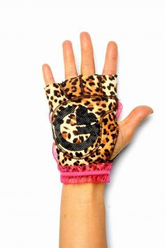 leopard pink | G-loves Workout Gloves for Women! Love!